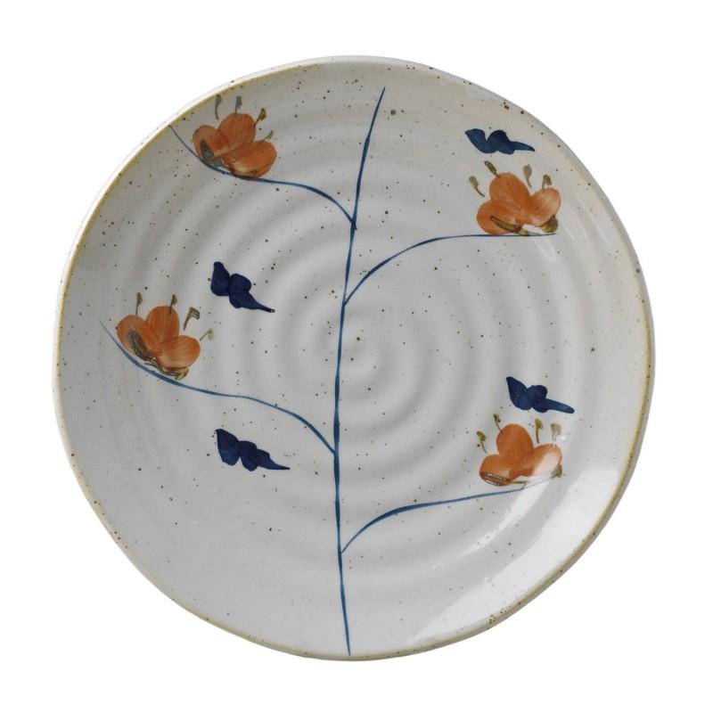Ø26cm Imari shallow plate