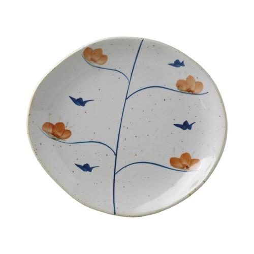 Imari dessert plate