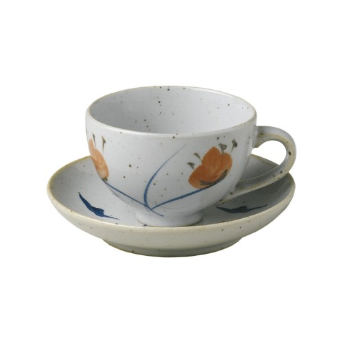 Taza de té con plato Imari