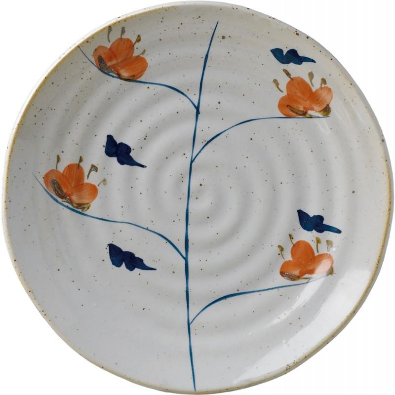 Ø22cm Imari shallow plate