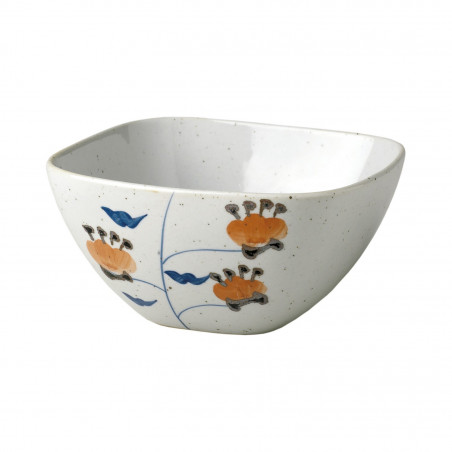 Bowl cuadrado Imari