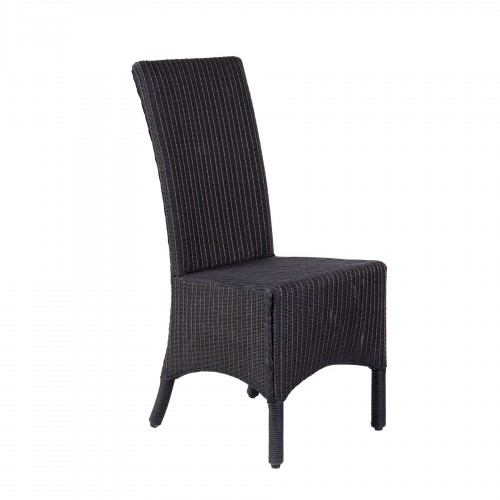 Lloyd Loom black chair