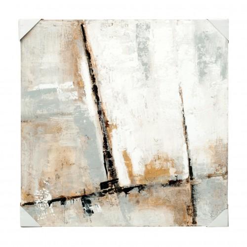 Black line oil painting