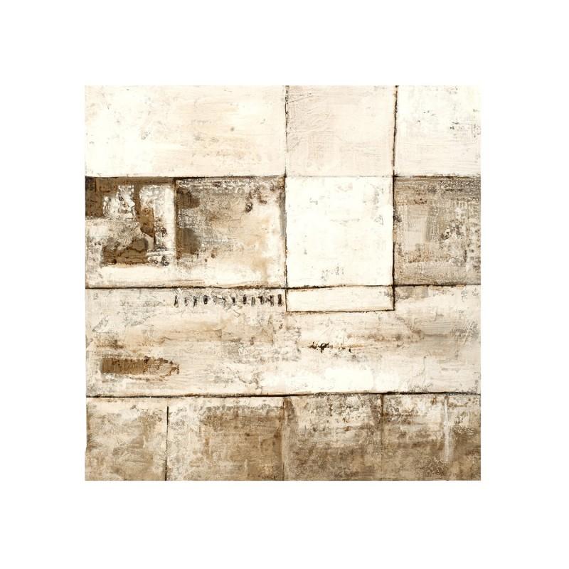 Óleo con trazos cuadrados - BECARA