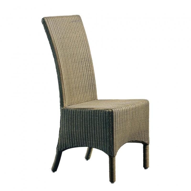 Dark Lloyd Loom chair