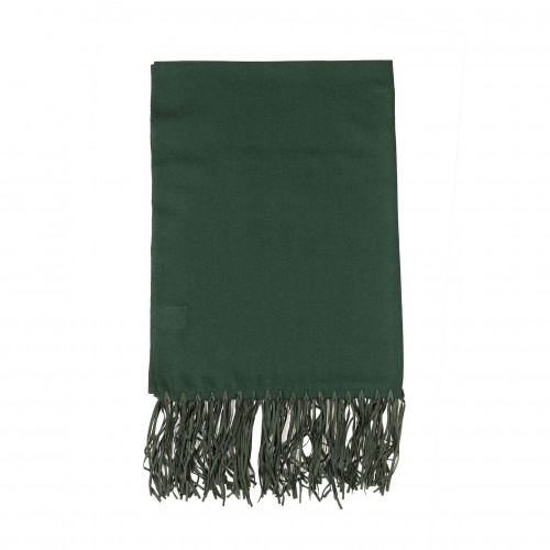 220x70cm emerald leather throw