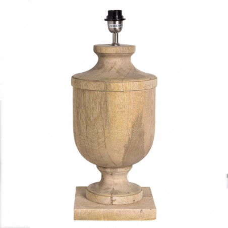 Lámpara de mesa de madera natural 55,50cm