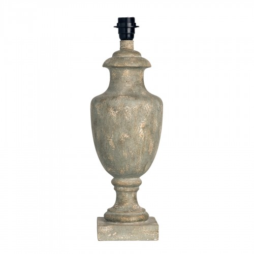 Distressed cup table lamp