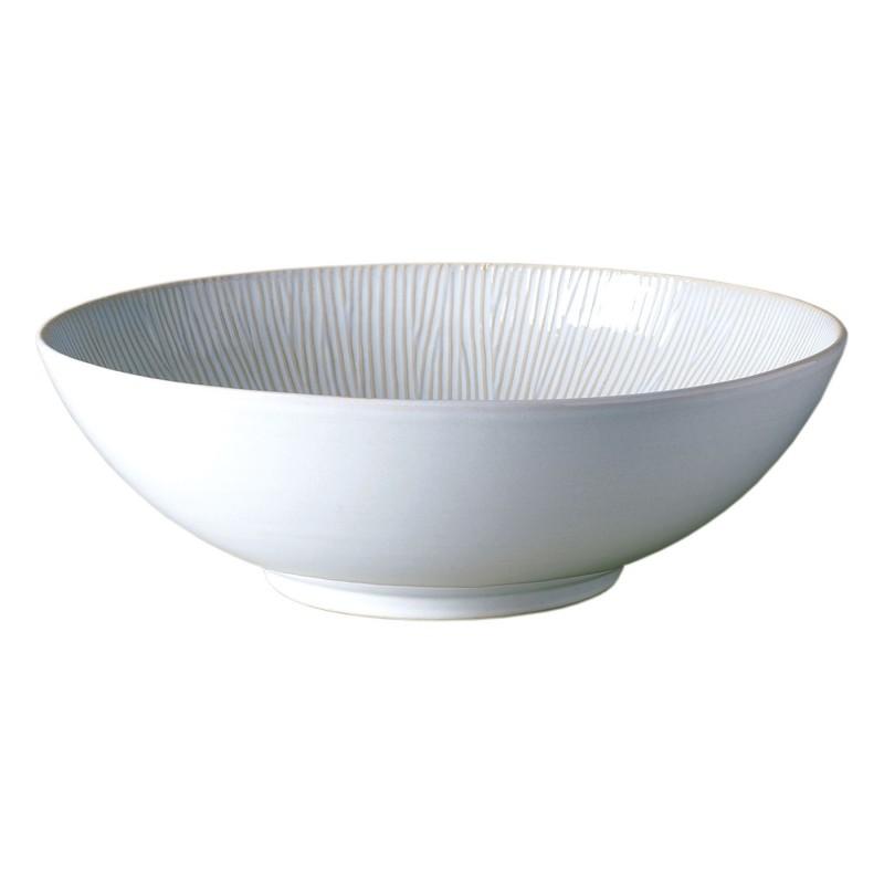 Cream Spin salad bowl