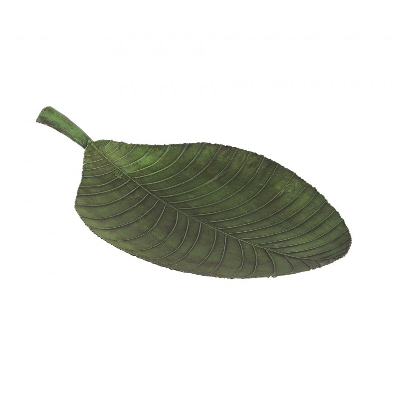 Big green iron leaf