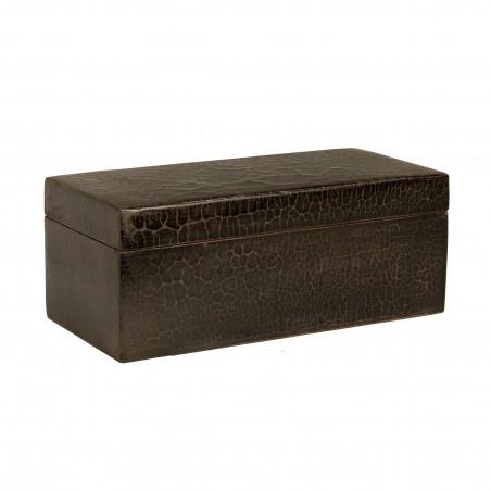 38X18X15 BLACK CAVIAR BOX