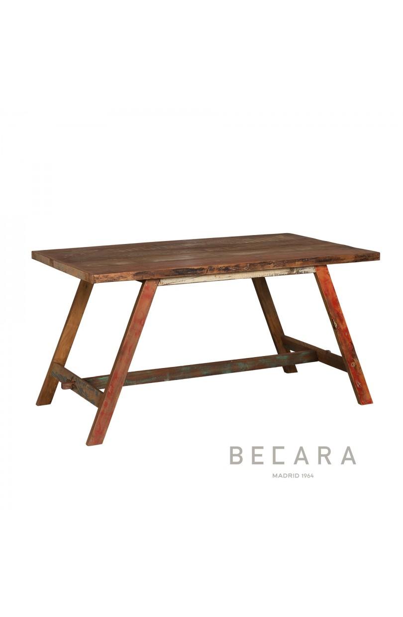 Mesa de comedor normand a peque a mesas de comedor en becara for Mesa comedor pequena