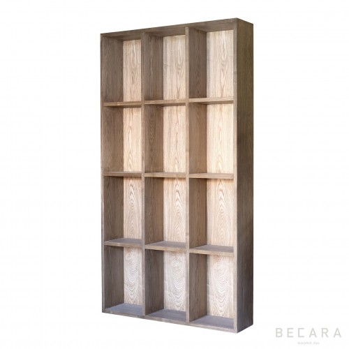 Olm wooden Weather bookcase