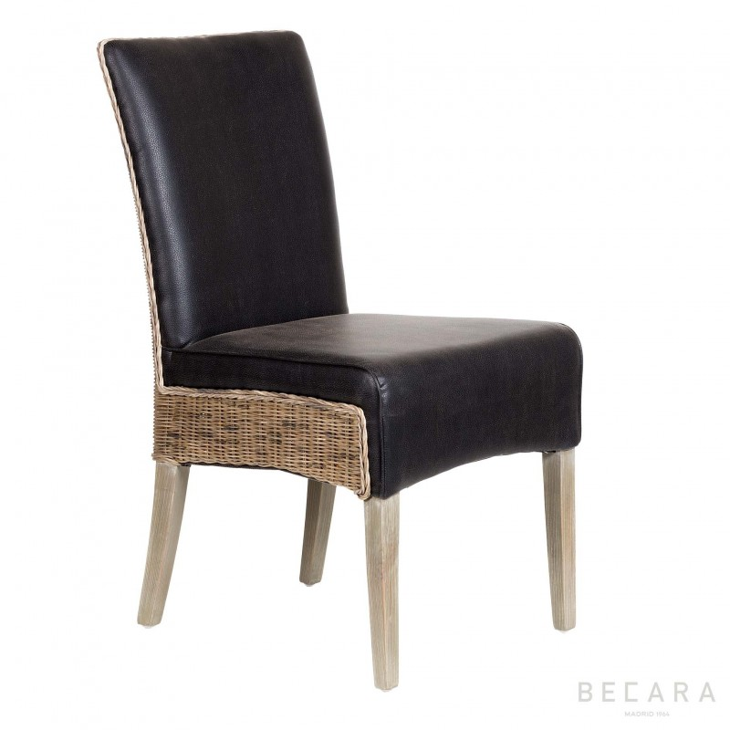 Silla Bilbao negra - BECARA