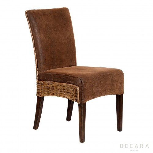 Brown Bilbao chair