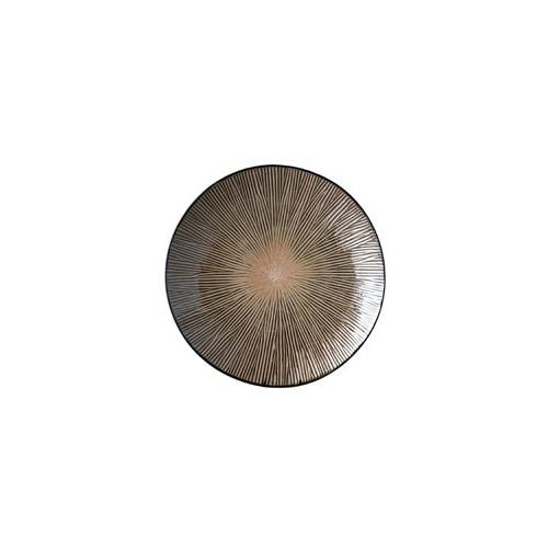 Fuente redonda Spin marrón - BECARA
