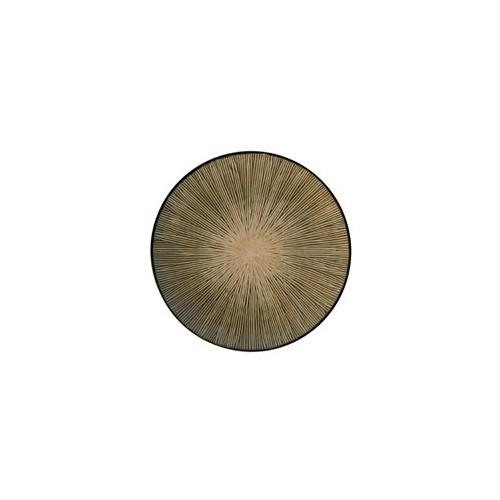 Plato llano Spin marrón