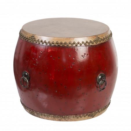 Medium red drum Unique side table