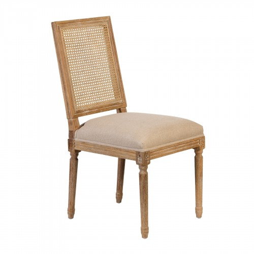 Luis XVI chair with mesh back