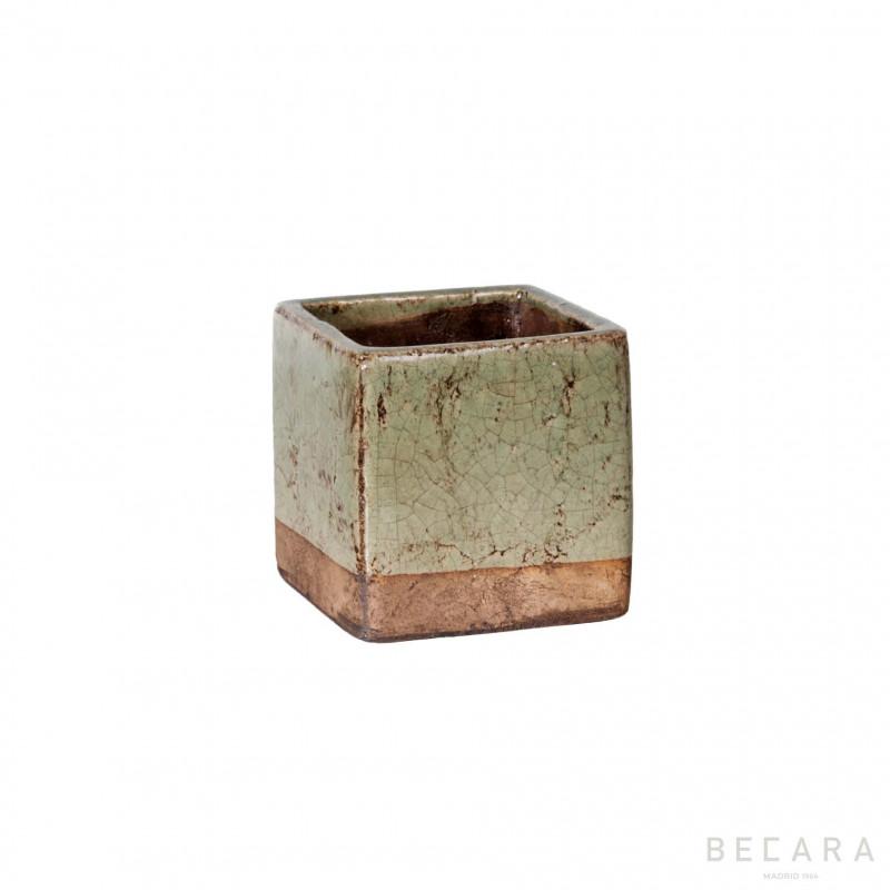 TIESTITO CELADON 16X16X16 - BECARA