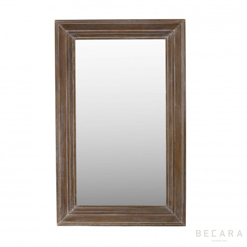 90x180cm stripping wooden mirror