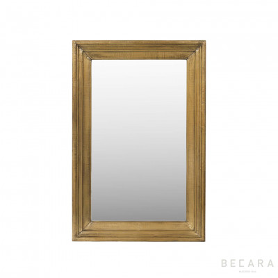 81x122cm brass cladding mirror