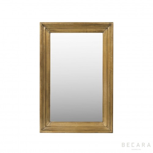 81x122cm brass cladding mirror