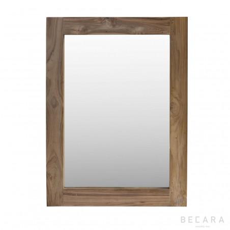 Espejo de teca 90x120cm