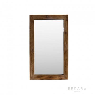 Espejo de teca 90x150cm