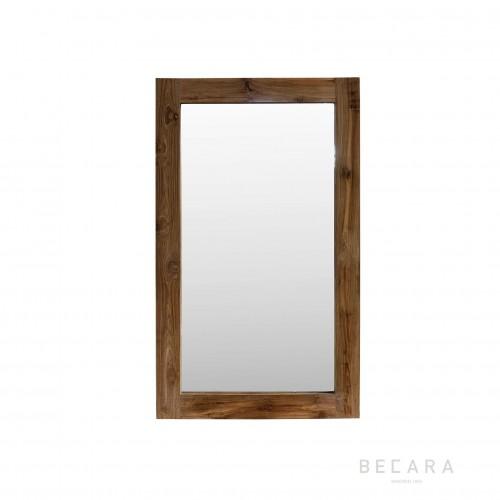 90x150cm teak wooden mirror