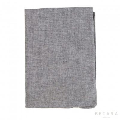 Grey wool scarf