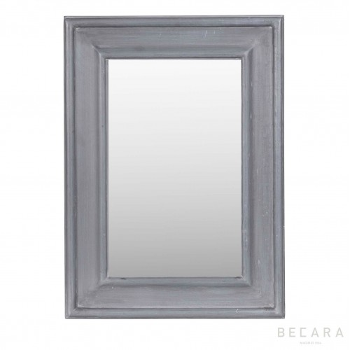 42x56cm bluish grey mirror