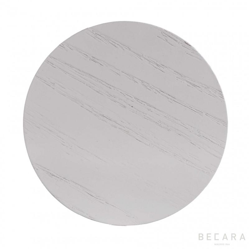 Set 4 posavasos Lombok blanco - BECARA