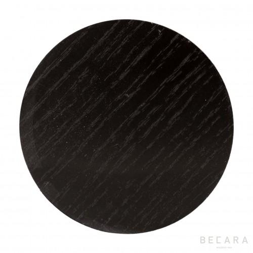 Set 4 posavasos Lombok negro