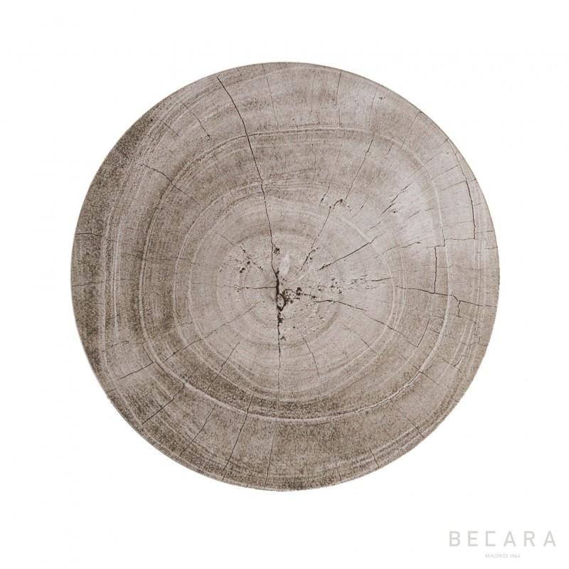 Set 4 posavasos Lombok gris - BECARA