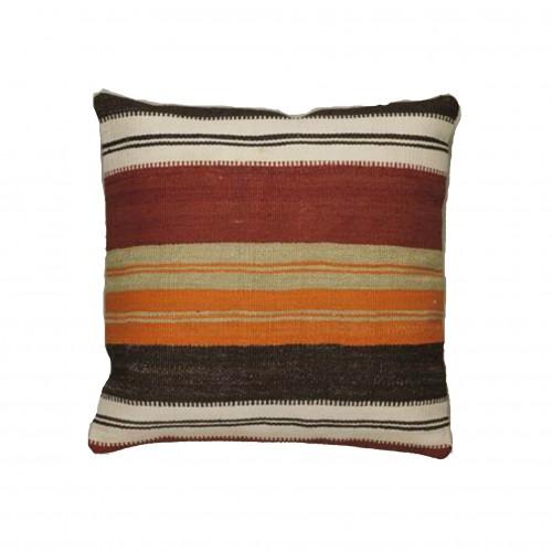 45x45cm coloured stripes cushion