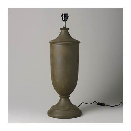 70CM HIGH BROWN WOODEN LAMP
