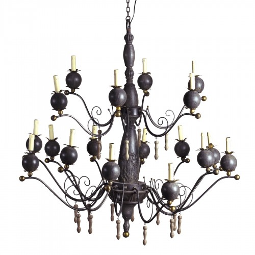 18 light pomegrates chandelier