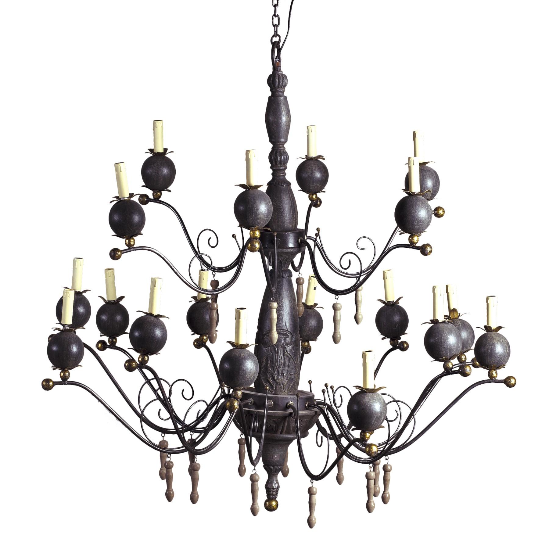 competitive price f6785 f3560 18 light pomegrates chandelier - Becara Tienda online
