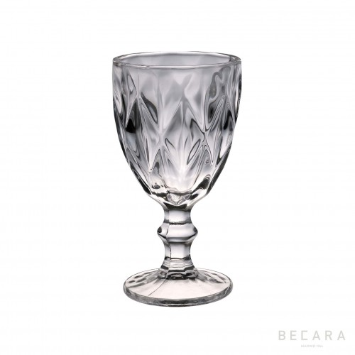 Copa de agua Louvre transparente - BECARA