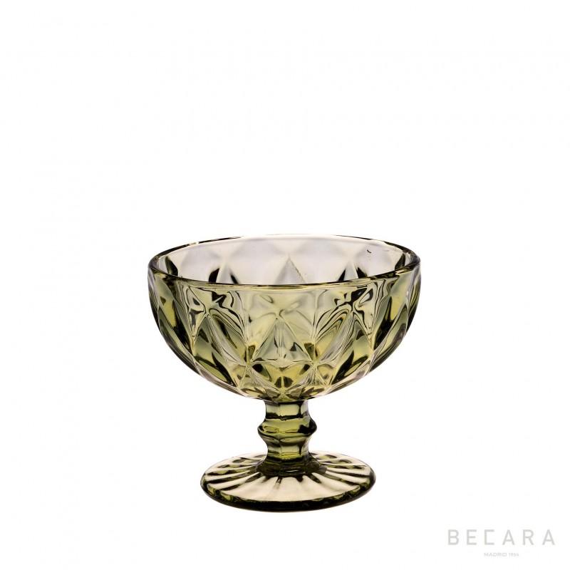 Copa de helado Louvre verde - BECARA