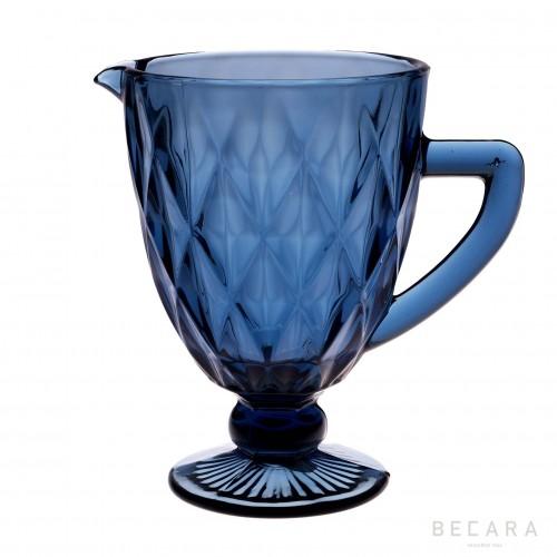 Blue Louvre jug