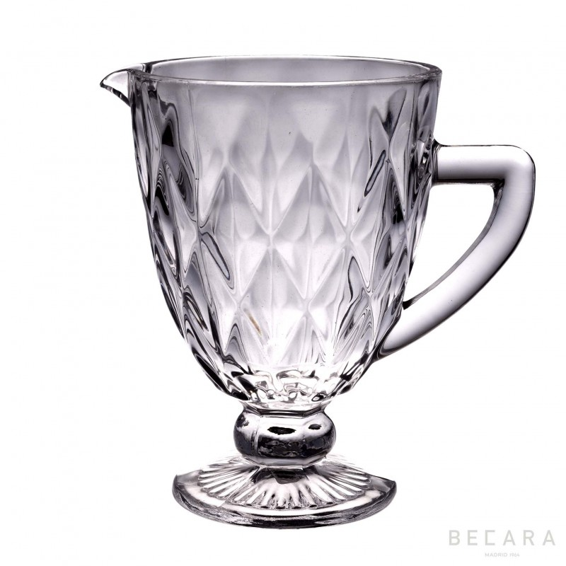 Transparent Louvre jug