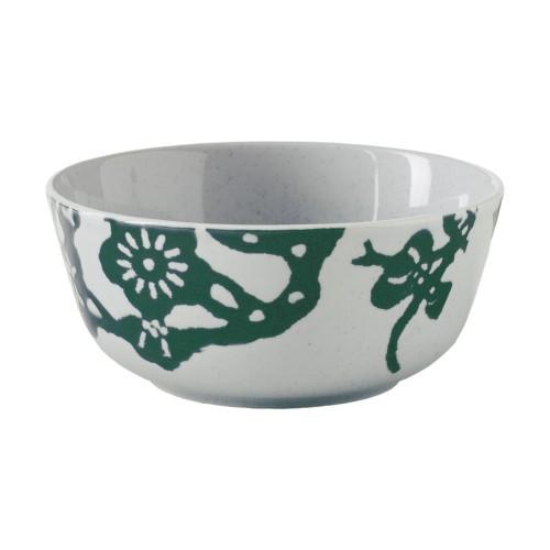 Bowl con pájaros verdes