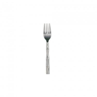Bamboo handle dessert fork