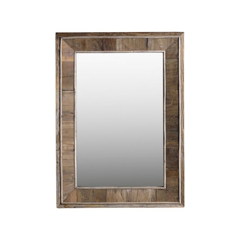 Espejo madera vieja 73x100cm - BECARA