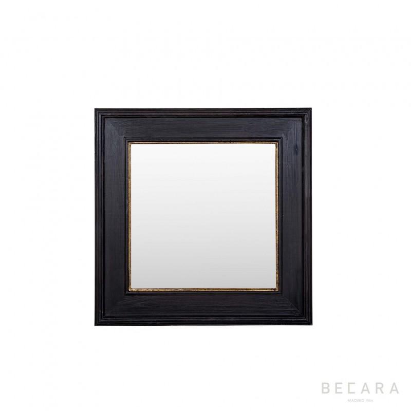 Espejo Black Tie 100x100cm - BECARA