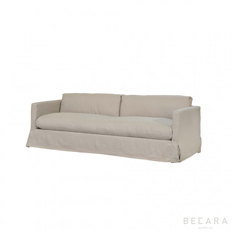 Sofá Paul de lino natural - BECARA