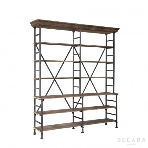 Double Zurich bookcase