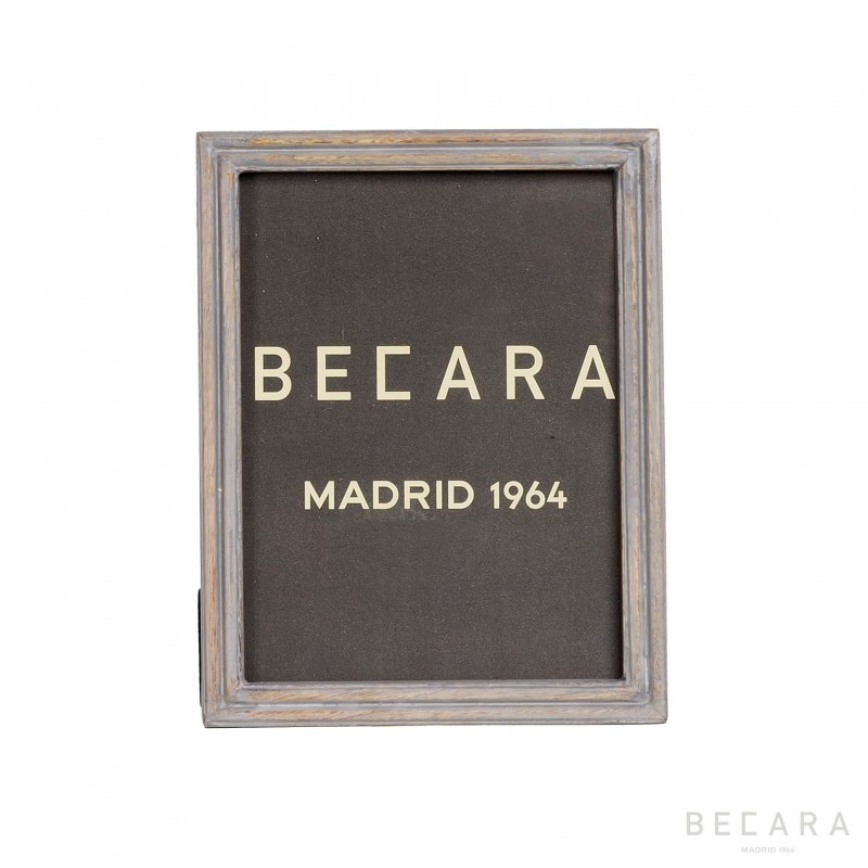 Distressed grey frame - Becara Tienda online